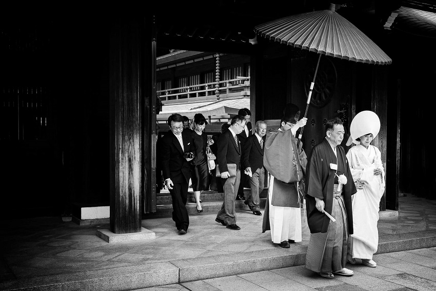 Japanese wedding arranged marriages